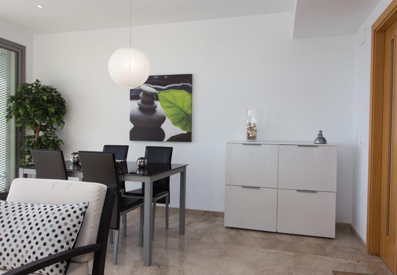 Apartamento en Peñiscola - Luminoso dúplex con VISTAS al MAR en Peñíscola