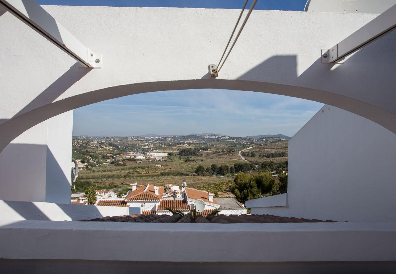 Casa adosada en Moraira - Casa con encanto en Moraira