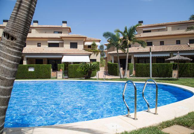 Casa adosada en Javea / Xàbia - Casa en Jávea con piscina climatizada