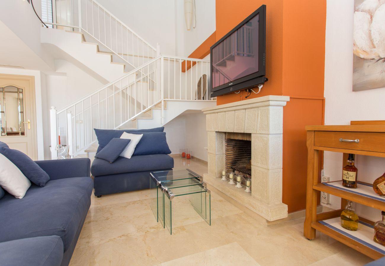 Apartment in Javea - Duplex Penthouse near El Arenal