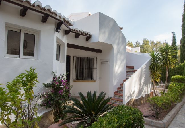 Townhouse in Moraira - Villa in Moraira with fireplace and free WiFi