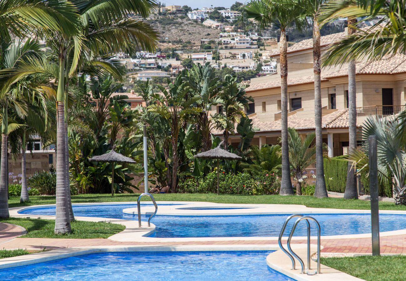 Appartement à Javea - Appartement à Javea avec piscine chauffée