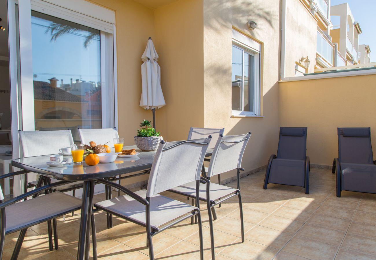 Appartement à Denia - Denia Las Marinas Apartamento