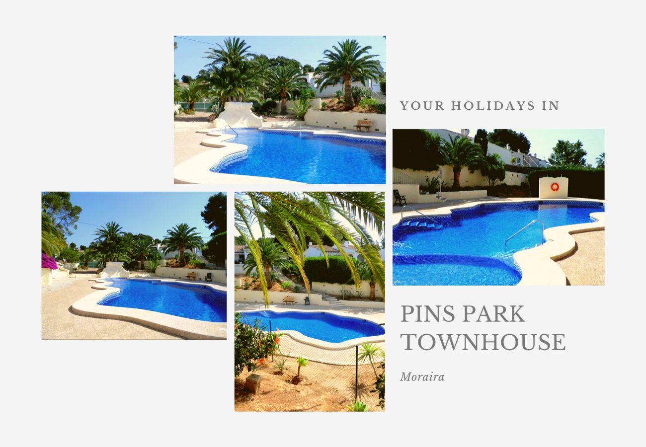 Maison mitoyenne à Moraira - 💎 Pins Park Townhouse Moraira 📍